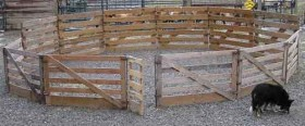 Portable Holding Corral
